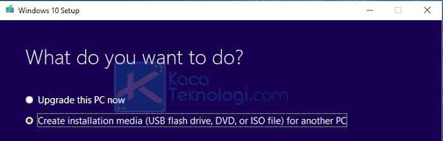 Create installation media 2528USB flash drive252C DVD252C or ISO file2529 for another PC