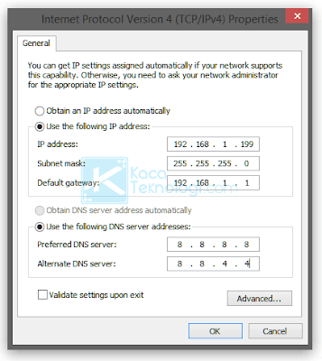 """Cara Mengatasi Network Error Windows has detected an IP address conflict """"Another computer on this network has the same IP address as this computer. Contact your network administrator for help resolving this issue. More details are available in the Windows System event log."""""""