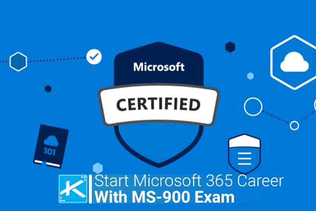 start microsoft 365 career with ms 900